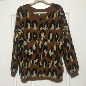 Urban Outfitters Leopard Sweater 🔥🔥🔥